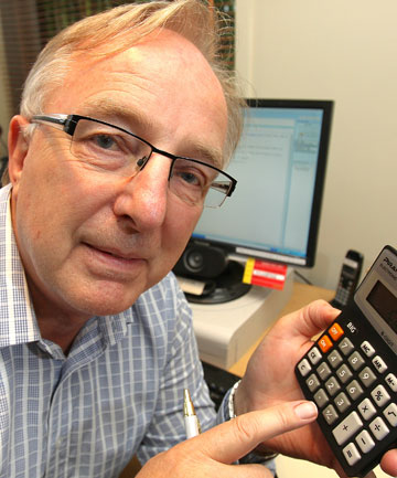 EASY AT FIRST: But Max Whitehead warns small business tax problems catch up with you.