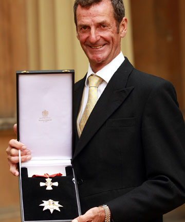 PRINCELY HONOUR: Mark Todd after receiving his Knighthood for services to Equestrian Sport from the Prince of Wales following an Investiture ceremony at Buckingham Palace.