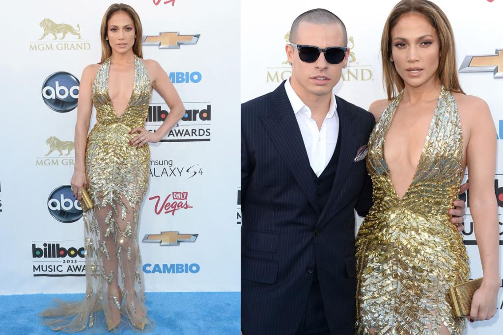 While there's no denying Jennifer Lopez looks amazing in this Zuhair Murad gown (she's forty-freaking-three), it feels a bit J-Lo five years ago? I'm also thinking the hair's a fail.