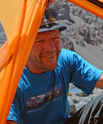 VERTICAL LIMIT: Dean Staples is the first New Zealander to ascend Mt Everest nine times.