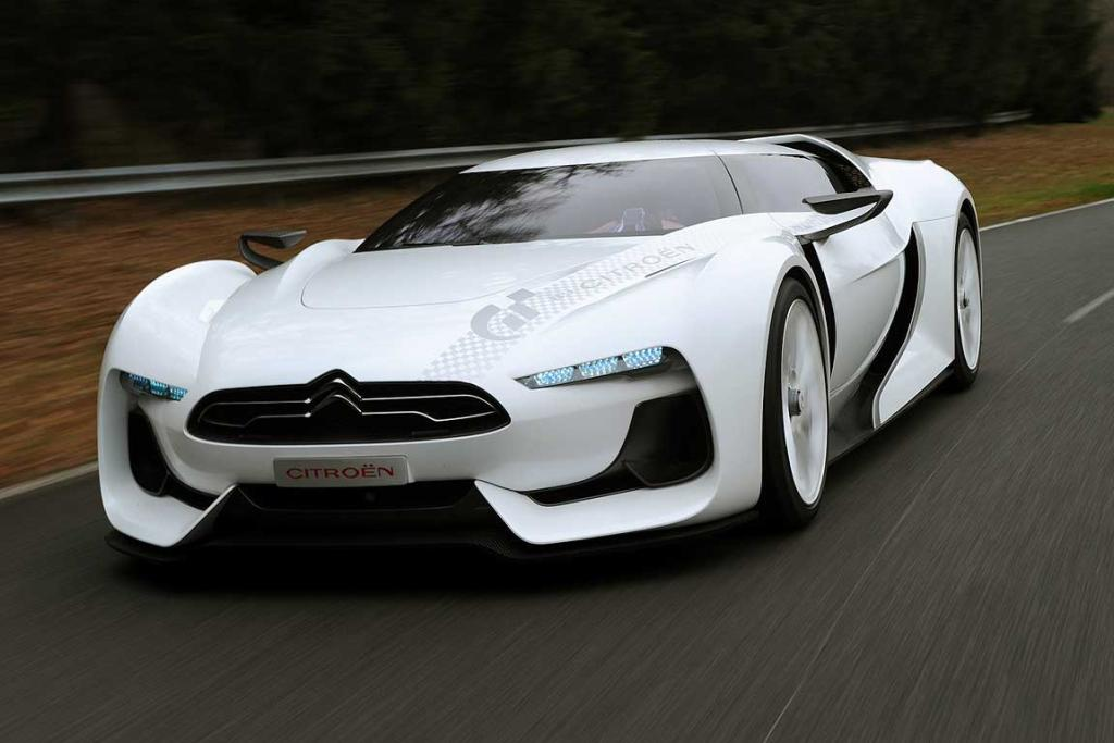 The GTbyCitroen that is coming to New Zealand for the CRC Speedshow.