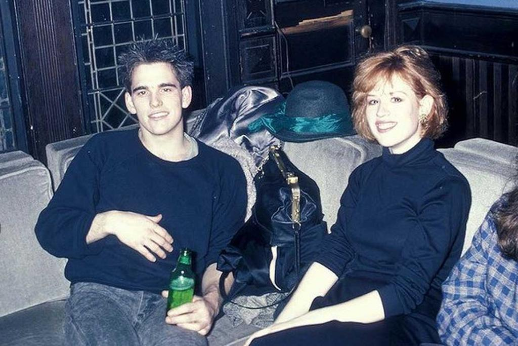 When awesome social shots like this one with Matt Dillon turned up.