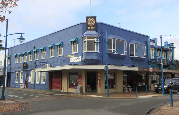 Tick tock: The two-storey building in central Blenheim, to be demolished in July, is one of 22 buildings in Blenheim and Picton under notice by the Marlborough District Council to be strengthened to meet earthquake standards or come down.