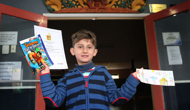 DESIGNER CASH: Crawshaw School student Parsa Soltanizand was one of seven finalists in a nationwide design competition for Heads Up for Kids to design a new $5 note.
