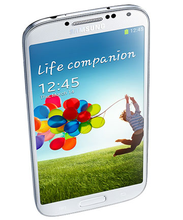 GALAXY S4: The fastest-selling Android smartphone ever.