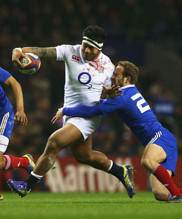 SAMOAN DESCENT: England centre Manu Tuilagi is in the British and Irish Lions squad.