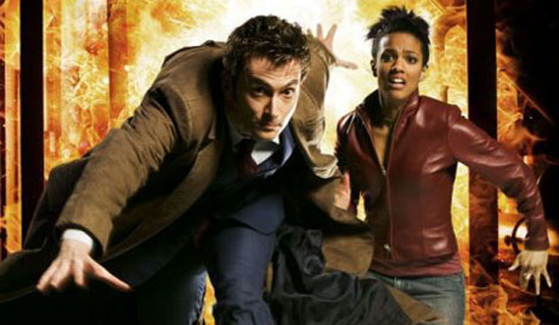 Academics have criticised Doctor Who over his treatment of his black companion Martha Jones.
