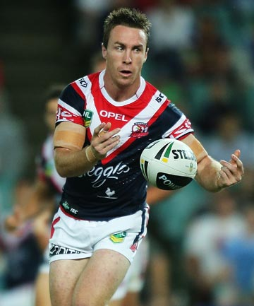 MALONEY IN: Rooster and former Warrior James Maloney.