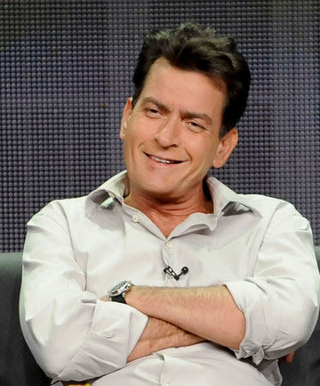 FAMILY MINDED: Charlie Sheen is on the record saying his ex-wife's home is the best place for his 4-year-old boys to be.