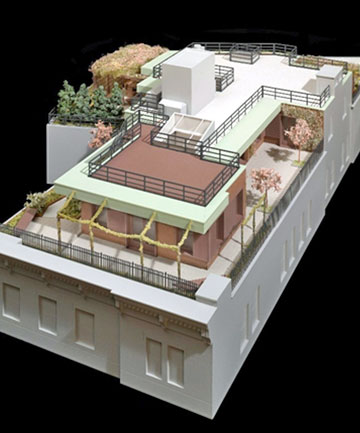 """LUXURY PAD: The envisioned """"sprawling duplexed masterpiece with private multi-level wraparound roofdeck""""."""