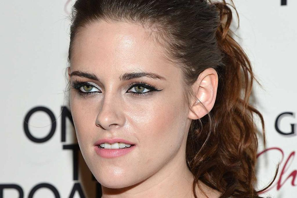 PARTY ON: Kristen Stewart celebrates at the premiere of the movie On The Road.