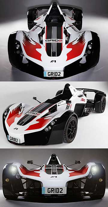 Grid 2's BAC car.