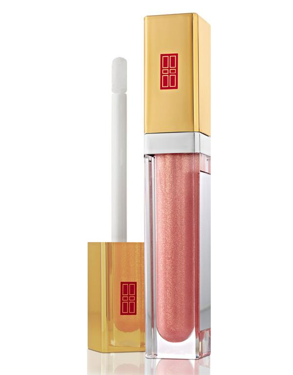 ELIZABETH ARDEN BEAUTIFUL COLOR LUMINOUS LIP GLOSS, $48: Want Angelina-worthy lips? This non-sticky, super shiny, lip-plumping gloss smells like coconut and vanilla and comes in 14 shades and three different finishes (high shine, pearl and high shimmer). Best of all, there's a mirror on the tube. Genius.