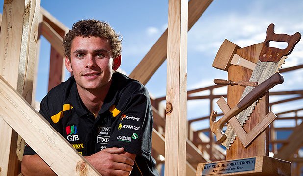 Young builder nails national award | Stuff co nz