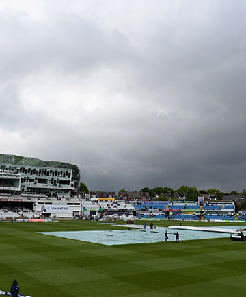 NZ SAVIOUR?: Rain threatened the final day of the second test but ultimately could not save the Black Caps from another loss.