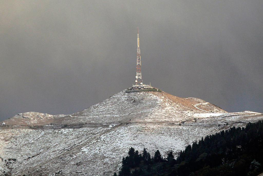 Sugarloaf in the snow