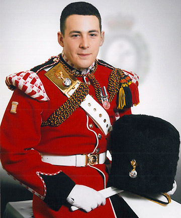 SLAUGHTERED: Lee Rigby was 25 years old and a father.