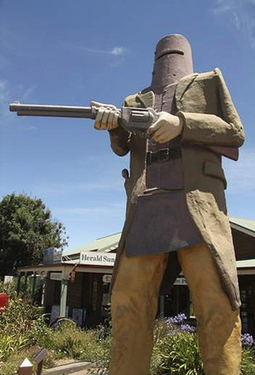 HOLD UP: Big Ned at Glenrowan offers a stop worth making.