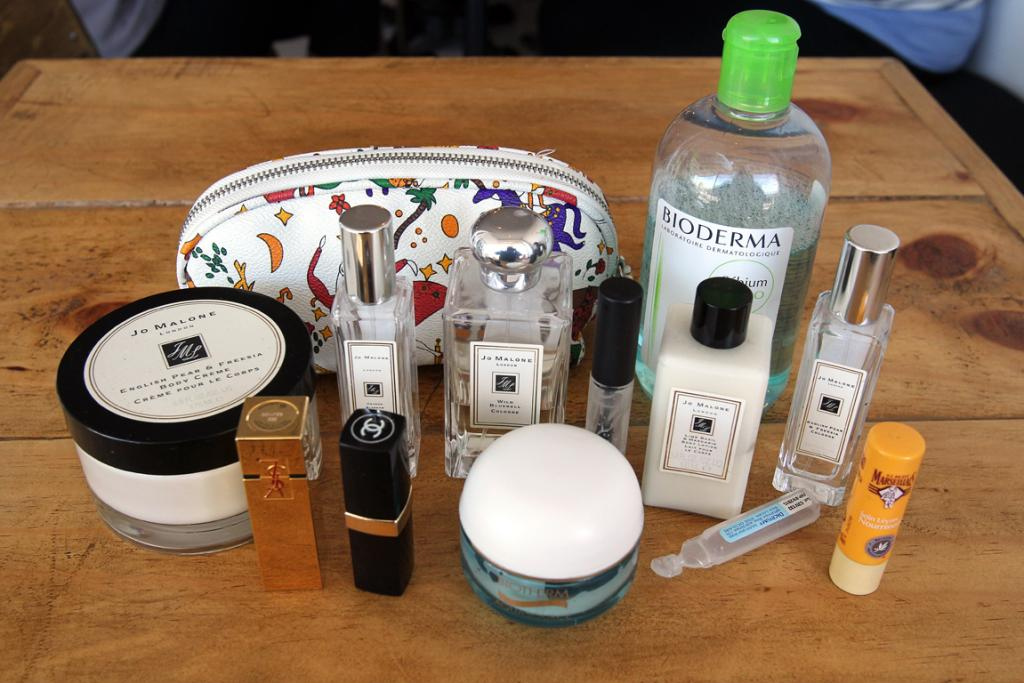 Karen Inderbitzen-Waller is a big fan of English perfumer Jo Malone, M.A.C makeup and French skincare.