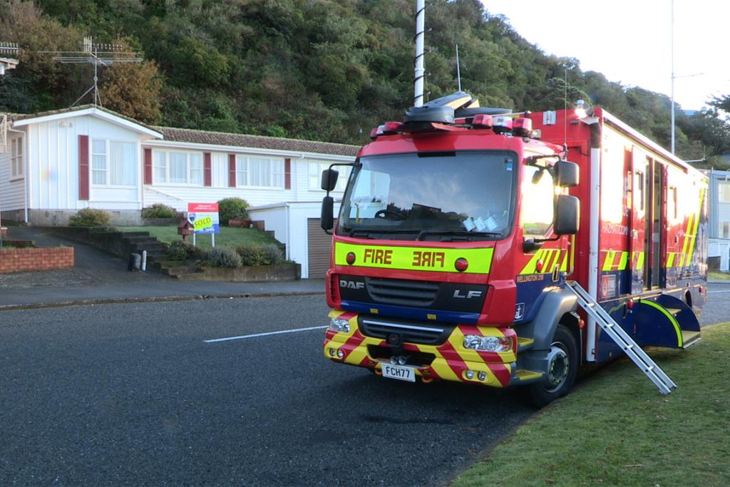 Emergency crews working in the area, including teams from the council, Civil Defence, fire service and police.