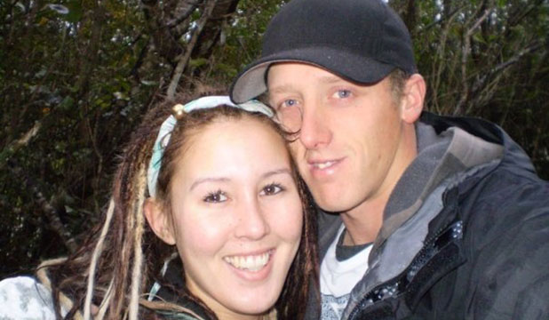 SOULMATES: Andrea Charlene Harris and Kegan Myall were living in Brisbane, but on their way to Perth at the time of the accident.