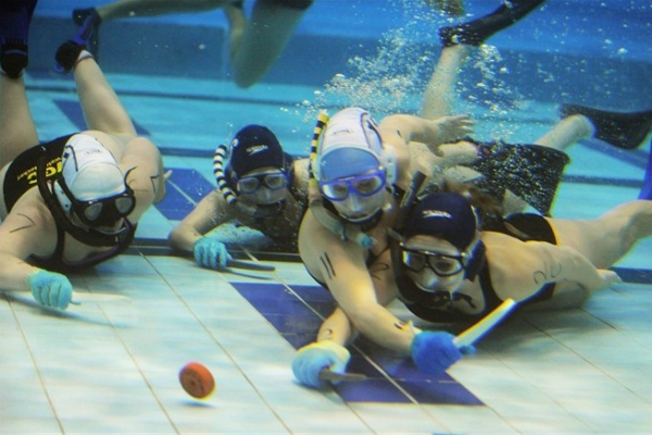 Plimmerton underwater hockey player makes splash for NZ ...