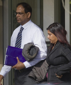 GUILTY: Kishor Singh and Ajeshni Healy leave court last year.