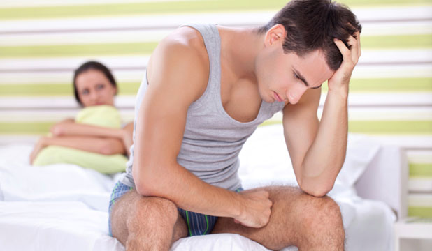 Sexual stress common in men