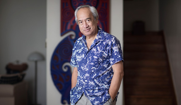 Charmed: It's a big year for Witi Ihimaera.
