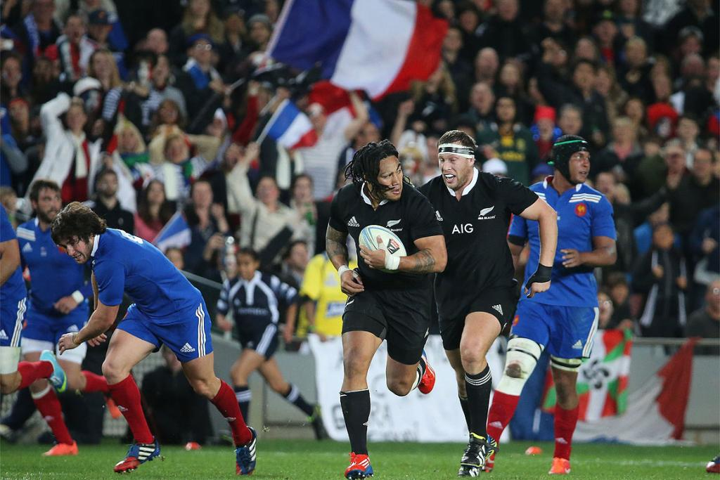 All Blacks vs France - First test