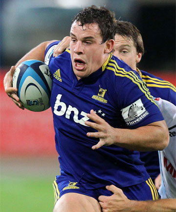 RUNNING HARD: John Hardie is understood to be a target for Scotland.