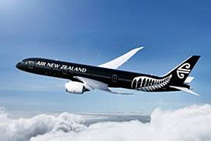 Air New Zealand black livery