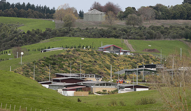 BEFORE THE FIRE: Twenty-seven people were involved in a riot at the Spring Hill Corrections Facility in Waikato.