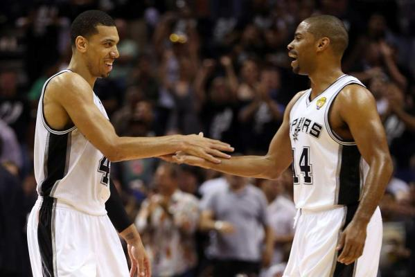 Danny Green and Gary Neal