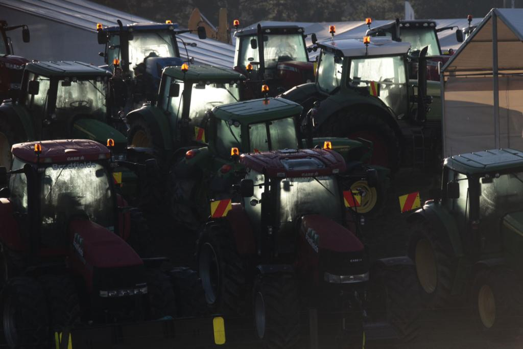 Parked up but ready to go for another day at the Fieldays.