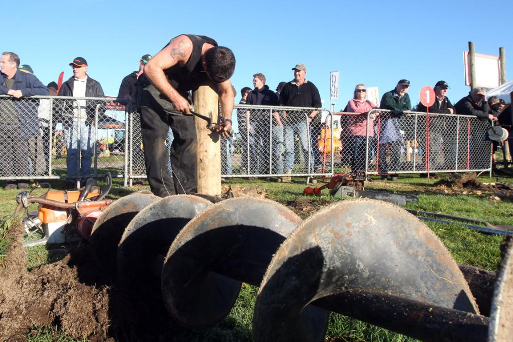The Fieldays fencing championship.
