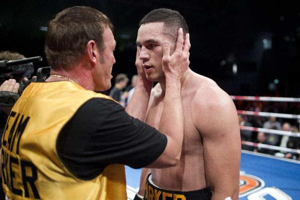 Joseph Parker and Kevin Barry