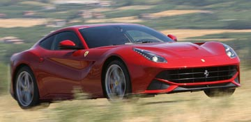 FERRARI 6.3-LITRE F12: The Italian supercar was judged as having the best high performance engine and the best engine over 4.0-litres.