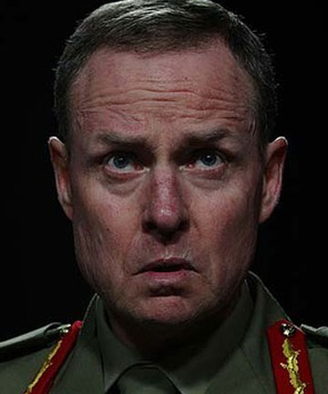 POSTER BOY FOR FEMINISM: Australian Chief of Army Lieutenant General David Morrison.