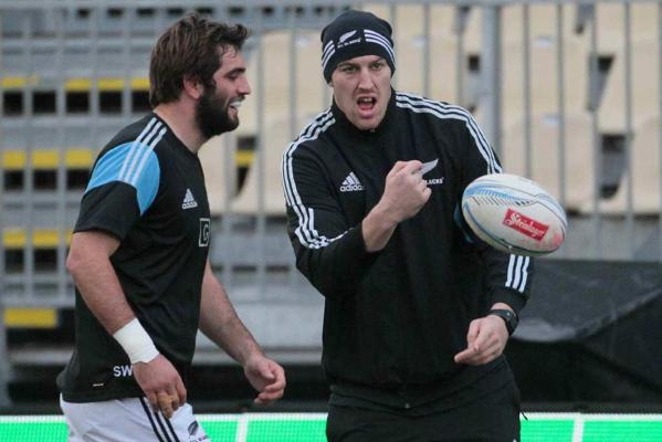 Sam Whitelock and Brodie Retallick