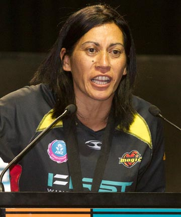 "NOELINE TAURUA: ""I am just really excited. I know the pressure is going on, and I love these types of games."""