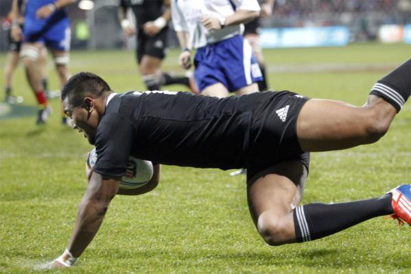 All Blacks v France second test