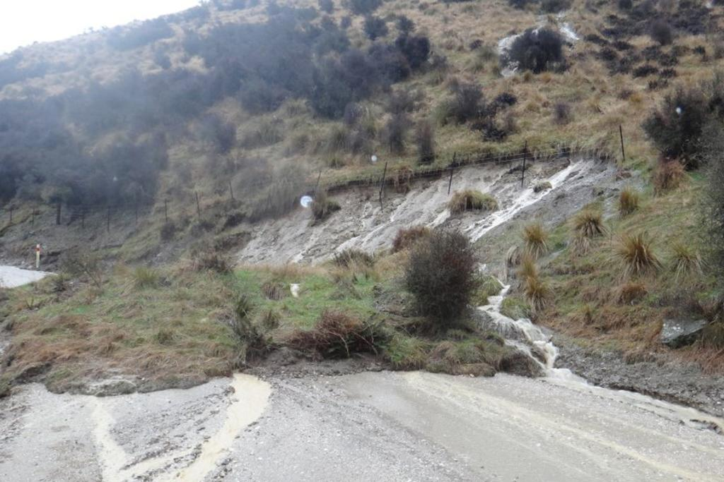 Flooding at Danseys Pass.