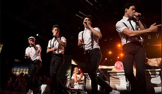 BENDING THE RULES? Moorhouse met with a Sony talent scout last year.