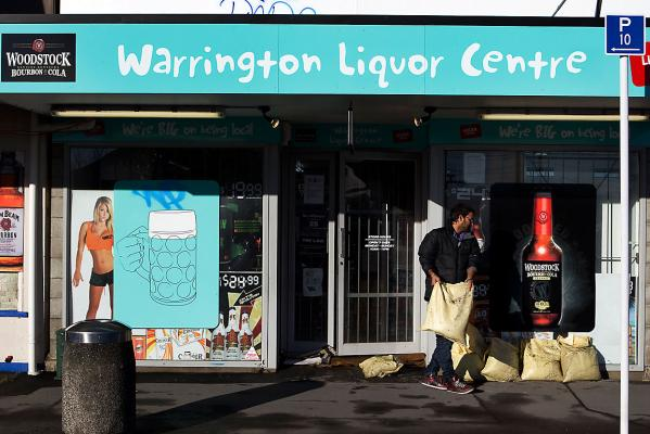 Warrington Liquor Centre manager Harbaldeep Singh