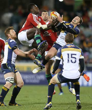 Lions vs Brumbies