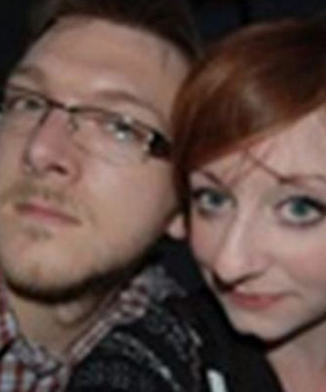 MARRIED COUPLE: Jeremy and Emily Forrest together before he allegedly ran off to France with a pupil.