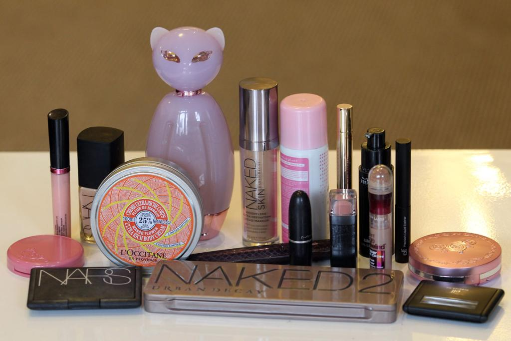 BAG OF TRICKS: ShaaanXO's favourite products range in budgets, but she does prefer natural products.