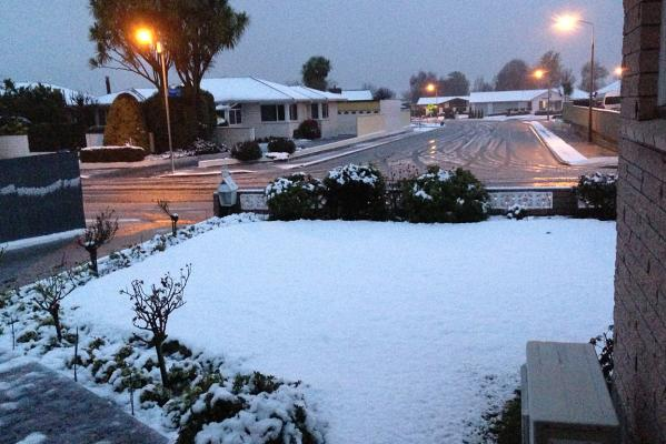Ashburton snow