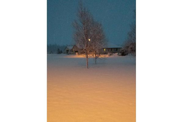 Snow cover in Methven.